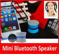 mini hifi para iphone 5s al por mayor-Mini Altavoz Bluetooth Inalámbrico Portátil Selfie Shutter Diseño de Altavoces Remotos de Alta Fidelidad para iphone 5 5S 6 6plus