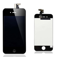 Wholesale Original Iphone 4s Lcd Touch - Best Quality A+++ Full Original LCD Display & Original Touch Screen Digitizer Flex Complete Assembly For iPhone 4 4G 4S No Any Defect!