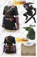 Wholesale Custom Zelda - Wholesale-The legend of zelda twilight princess Dark link cosplay costume