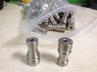 titanyum sonsuz çivi toptan satış-Toptan Evrensel Gr2 titanyum infiniti tırnak 14mm 18mm Ayarlanabilir Erkek veya Kadın