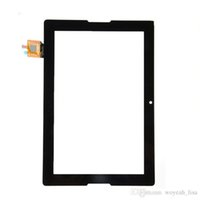 Wholesale Glass Tablet Lenovo - Original Tablet Touch Screen 10.1 Inch Lenovo A7600 Repair Replacement Part Black Panel Glass Lens