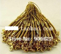 Wholesale Colours Phone Accessories - Wholesale-DIY ACCESSORIES for Mobile phone strap with gold colour .7.5 cm length ,20pcs lot with Free shipping