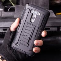 cinturón de nexo al por mayor-Future Armor Impact Hybrid Hard Phone funda protectora con clip de cinturón funda soporte Kickstand para LG G3 G4 Mini Stylus LS770 V10 C40 Nexus 5X 6P