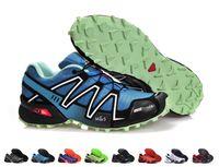 Wholesale Lime Green Waterproof - Wholesale New Arrival Hot Sell Sneakers Speedcross 3 Shoes Waterproof Running Shoes Men Outdoor Sport Walking Shoes Drop Free Shipping