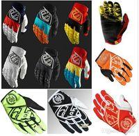 Wholesale Black White Green Motorcycle Gloves - Newest Designs Men's GP Gloves Motocross glove Bomber Motorcycle Gloves moto dirt bike Bicycle gloves