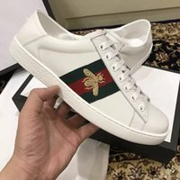 Wholesale Mens Dress Shoes Square Toe - New Designer Fashion Snake Mens running shoes Men's Lace-Up casual shoes fashion sneakers men's Famous Casual Shoes Trainers size:38-46