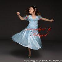 Wholesale movie drops resale online - Pettigirl Retail Blue Cinderella Princess Dresses Movie Cosplay With Flowers Kids Party Dress Eelegant Summer Wear Drop Shopping GD50613