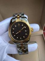 Wholesale Men Automatical Watch - WINNER Men Mechanical fashion watch Automatical wristwatch 50m water resistant full stainless steel men dress watch clock
