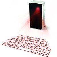 teclado de proyección de iphone al por mayor-Teclado y mouse láser virtual portátil para Ipad Iphone Tablet PC, Proyección Bluetooth Teclado proyectado Altavoz inalámbrico