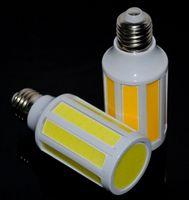 Wholesale E14 15w Cob Corn - COB LED Corn Bulb Lamp Light 15W SMD E27 E14 B22 Home Kitchen High Power 10 Intergrated Chips led bulbs AC110V 220V Warm Cool white