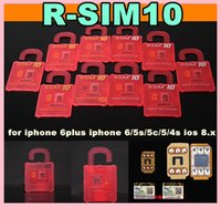 Wholesale Wholesale Cdma Mobiles - 2014 Best Unlock Card ios8 ios 8 R-SIM R SIM RSIM 10 Perfect unlock iphone 6 plus iphone 6 5s 5 4s plus AT&T T-mobile Sprint WCDMA GSM CDMA
