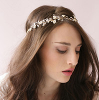 Romantico 2016 rilievo Handmade fasce del fiore Wedding Accessori per capelli Made in China Under 20 $