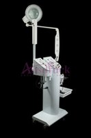 Wholesale Galvanic Scrubber - DHL shipping 11in1 Multifunctional Diamond Dermabrasion Ultrasonic Skin Scrubber Ozone Facial Steamer High Frequency Galvanic Beauty Machine