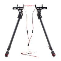 Wholesale electric retractable - New Electric Retractable Carbon Fiber Landing Gear for 20mm Pipe Clamp DJI S800 S1000 order<$18no track