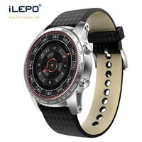 Wholesale Google Phone Calls - Android 5.1 KW99 smart watch with heart rate bluetooth GPS SIM card WCDMA pedometer google smart watches for android IOS phone