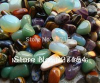Wholesale 1 lb Bulk Assorted Tumbled Stone Crystal Healing Reiki Free Pouch TS0000