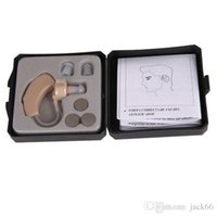Wholesale Ear Sound Tone - New Tone Hearing Aids Aid Behind The Ear Sound Amplifier Sound Adjustable Kit