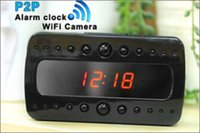 Wireless WiFi IP HD 720P Spy Camera Motion Detection Alarm Clock DV DVR Hidden Cam Video Record P2P per Iphone Android Phone