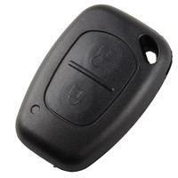 Wholesale Key Shell Case Vauxhall - Remote Key Fob Case Shell Car For Renault Opel Vauxhall Nissan Vivaro Movano VE318 W0.5