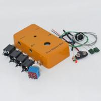 гитарные огни оптовых-Looper PB-N1160 / 1590B DIY гитарные педали, алюминиевые ручки для педалей + педальный переключатель + светодиодные фонари + интерфейс + припой True Bypass