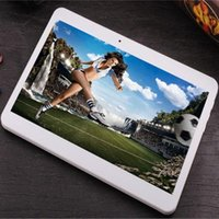 Wholesale Mtk6577 Hebrew - Wholesale 10 inch Quad core WIFI MTK6577 Android 4.4.2 phablets 3G Phone call 2GB RAM 32GB ROM 1280*800P bluetooth HDMI GPS tablets