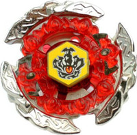 BEYBLADE 4D RAPIDITY METAL FUSION Beyblades Juguete Rapidez Beyblade Única lucha de metal BB116C HELL CROWN 130FB