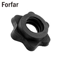 """Wholesale weighted collar - Wholesale- Forfar Pair Vinyl Spinlock Collars Fit For 1"""" Standard Weight Lifting Barbells Dumbbell Training Gym Useful Sport Goods"""