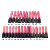 Wholesale menow lip online - 40SET Durable Makeup cup lipstick non stick cup Lip Gloss Colors MENOW M N Meinuo lip gloss velvet matte Waterproof