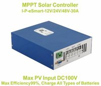 Wholesale 24v Charge Controllers Mppt - 30A MPPT solar charge controller 12vV 24V 48V 30A PV regulator Solar Panel Battery Controller Charge Regulator