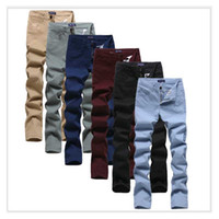 Wholesale Pantalones Cargo Hombre - Men Full length Casual pants Regular joggers Cotton jean pants Male pantalones hombre emoji joggers for boys mens cargo pants