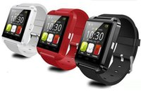 20X Bluetooth Smartwatch U8 U Uhr Smart Watch Armbanduhren für iPhone 4 / 4S / 5 / 5S Samsung S4 / S5 / Note 2 / Hinweis 3 HTC Android Phone Smartphones