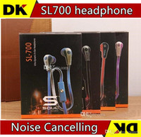 Wholesale Soul Headphones Control Talk - Best Quality soul mini SL700 in-ear headphone with control talk By Ludacris SL700 earphone with retail box 10pcs