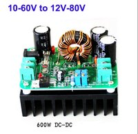 Wholesale Dc Boost - DC-DC Step Up 10-60V to 12-80V Converter Boost Charger Module 600W