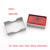 Wholesale Resins For Bows - New Arrival String Bow Rosin Colophony Pitch Friction-increasing Resin for Violin Viola Cello String Instrument I717