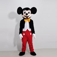 Wholesale Mouse Couple Mickey Minne Mouse Cartoon Mascot Costume school mascots character Men s costumes for guys