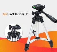 Wholesale phone stabilizer resale online - High Quality secion cm Aluminum Tripod Portable Camera Tripod for Mobile Phone Canon Nikon Olympus Camera