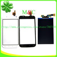 Wholesale Optimus L7 Ii Dual P715 - Wholesale-LCD Display For LG Optimus L7 II Dual P715 With Touch Screen Digitizer Panel Free Shipping+Tracking