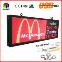 telas led programáveis venda por atacado-Sinal do diodo emissor de luz da cor completa do RGB 15