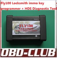 Wholesale Vw 15 - 2015 Orignal FLY100 forhonda hds fly 100 full locksmith immo key programmer V3.012.031(2014-1-15) fly-100 no need password DHL