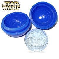 Wholesale New Star War death star ice tray making ice mould kitchen diy for cookies chocolate cake
