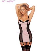 Wholesale Sexy Costums - w1024 Sexy Underwear Women Sexy Lingerie Ladies Lace Transparent Dress Erotic Costums Fan Intimate Lingerie