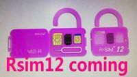 Wholesale Unlocked Softbank - R sim 12 rsim12 rsim sim12 sprint AU softbank ios 11.1 ios11 ios 10.x ICCID perfect Unlocking for iPhoneX,iphone 8,8PLUS 7,7plus 4G