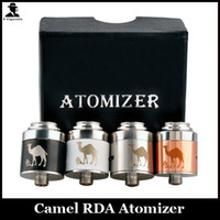 Wholesale Camel Cigarettes - Camel RDA Atomizer Clone Camel Tank 22mm Vapor Mod Atomizer For 510 Thread E-cigarette Mods VS Mutation X v3 RDA Tank