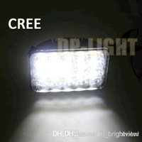 Wholesale Headlamps China - China 7inch 45W CREE LED WORK LIGHT lamp 3300LM Spot Flood Beam LED Headlamp Replacement For Car Truck Vehicle 4WD Fog Driving Lamp 12V 24V