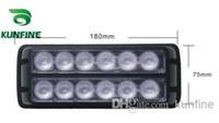 strobe leds Canada - New Arrival 100% water-proof LED strobe light 12*1W High Power LEDs Traffic Advisors light With flash Patterns KF-L3005
