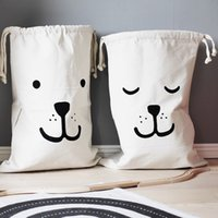 Wholesale Children S Backpacks Baby - Cartoon Storage Bags Drawstring Backpack Children Room Organizer For Toy And Baby Clothings Kids Laundry Bag Hanging Wall Decor