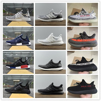 Wholesale Runner Floor - New NMD runner R1 boost high quality human race running shoes NMD Runner Pk Ultra Boost 3.0 sneaker sports shoes size 36-46