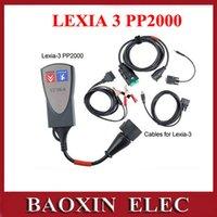 Wholesale Newest Lexia Citroen Peugeot - Wholesale-Newest lexia3 OBD2 Car Automotive Scanner Diagnostic Tool interface lexia 3 For citroen peugeot Free shipping