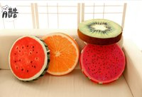 Wholesale 38cm Plush toy fruit cushion pillow watermelon cushion office sofa almofadas decorativas cojines birthday gift TY1132