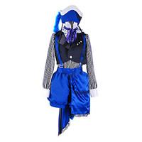 kahya kostümleri toptan satış-Siyah Butler Ciel Phantomhive Sirk Cosplay Kostüm